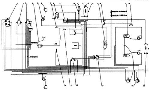 Принципиальная схема тормозной