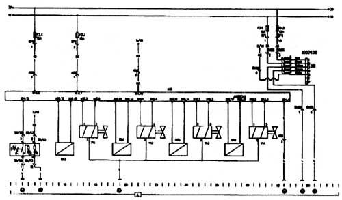 Схема электрооборудования Howo