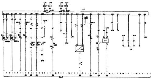 А7 группа приборов и левая