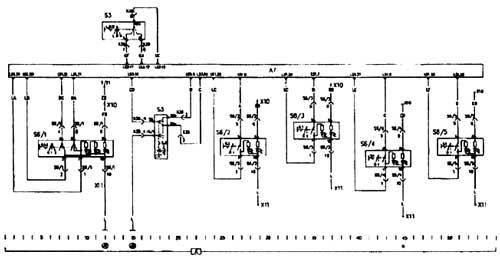 А7 набор приборов и левая